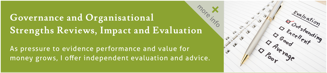 Evaluation, performance, and impact